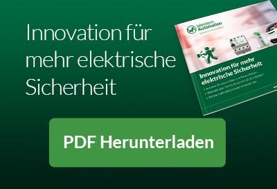 Innovation für mehr elektrische Sicherheit